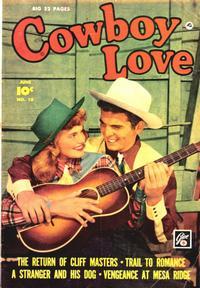 Cover Thumbnail for Cowboy Love (Fawcett, 1949 series) #10