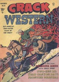 Cover Thumbnail for Crack Western (Quality Comics, 1949 series) #63