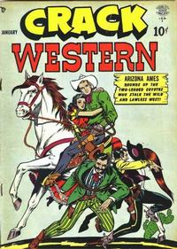 Cover Thumbnail for Crack Western (Quality Comics, 1949 series) #64