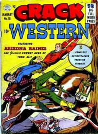 Cover Thumbnail for Crack Western (Quality Comics, 1949 series) #70