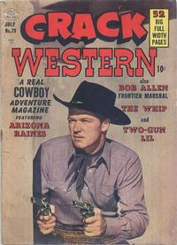 Cover Thumbnail for Crack Western (Quality Comics, 1949 series) #73