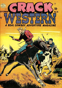 Cover Thumbnail for Crack Western (Quality Comics, 1949 series) #74