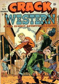 Cover Thumbnail for Crack Western (Quality Comics, 1949 series) #75