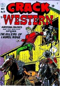 Cover Thumbnail for Crack Western (Quality Comics, 1949 series) #78