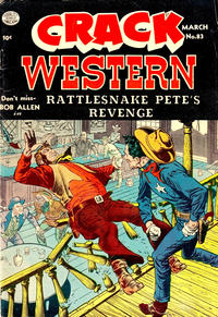 Cover Thumbnail for Crack Western (Quality Comics, 1949 series) #83