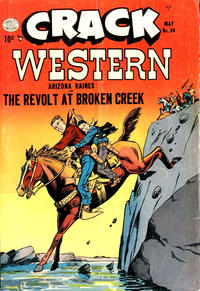 Cover Thumbnail for Crack Western (Quality Comics, 1949 series) #84