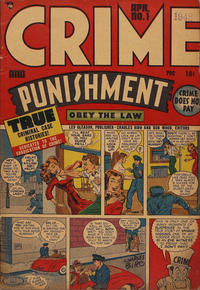 Cover Thumbnail for Crime and Punishment (Lev Gleason, 1948 series) #1