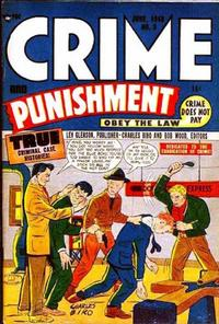 Cover Thumbnail for Crime and Punishment (Lev Gleason, 1948 series) #3