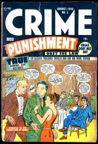 Cover Thumbnail for Crime and Punishment (Lev Gleason, 1948 series) #5