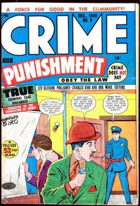 Cover for Crime and Punishment (Lev Gleason, 1948 series) #9