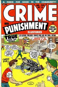 Cover Thumbnail for Crime and Punishment (Lev Gleason, 1948 series) #10