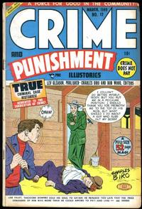 Cover Thumbnail for Crime and Punishment (Lev Gleason, 1948 series) #12