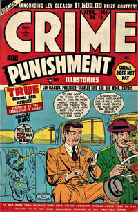 Cover Thumbnail for Crime and Punishment (Lev Gleason, 1948 series) #13