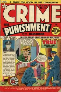 Cover Thumbnail for Crime and Punishment (Lev Gleason, 1948 series) #16