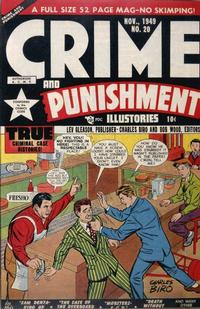 Cover Thumbnail for Crime and Punishment (Lev Gleason, 1948 series) #20