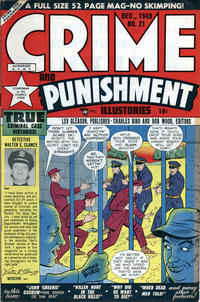 Cover Thumbnail for Crime and Punishment (Lev Gleason, 1948 series) #21