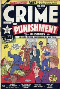 Cover Thumbnail for Crime and Punishment (Lev Gleason, 1948 series) #23