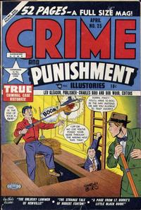 Cover Thumbnail for Crime and Punishment (Lev Gleason, 1948 series) #25