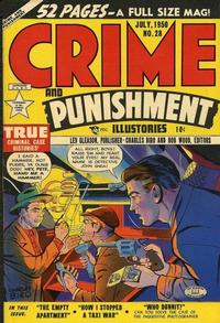 Cover Thumbnail for Crime and Punishment (Lev Gleason, 1948 series) #28