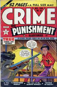 Cover Thumbnail for Crime and Punishment (Lev Gleason, 1948 series) #33
