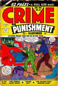 Cover Thumbnail for Crime and Punishment (Lev Gleason, 1948 series) #34