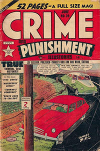 Cover Thumbnail for Crime and Punishment (Lev Gleason, 1948 series) #39