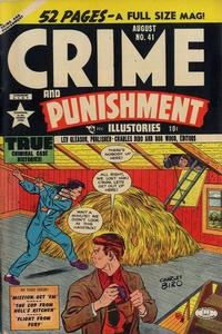 Cover Thumbnail for Crime and Punishment (Lev Gleason, 1948 series) #41