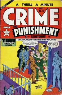 Cover Thumbnail for Crime and Punishment (Lev Gleason, 1948 series) #42