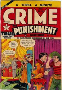 Cover Thumbnail for Crime and Punishment (Lev Gleason, 1948 series) #48