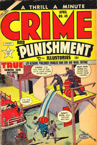 Cover Thumbnail for Crime and Punishment (Lev Gleason, 1948 series) #49