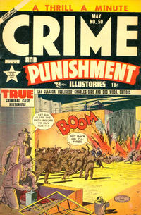 Cover Thumbnail for Crime and Punishment (Lev Gleason, 1948 series) #50