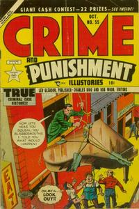 Cover Thumbnail for Crime and Punishment (Lev Gleason, 1948 series) #55