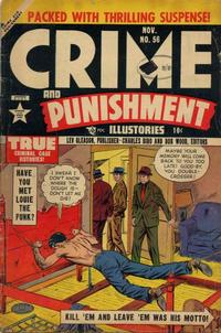 Cover Thumbnail for Crime and Punishment (Lev Gleason, 1948 series) #56