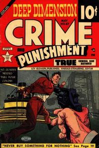 Cover Thumbnail for Crime and Punishment (Lev Gleason, 1948 series) #67