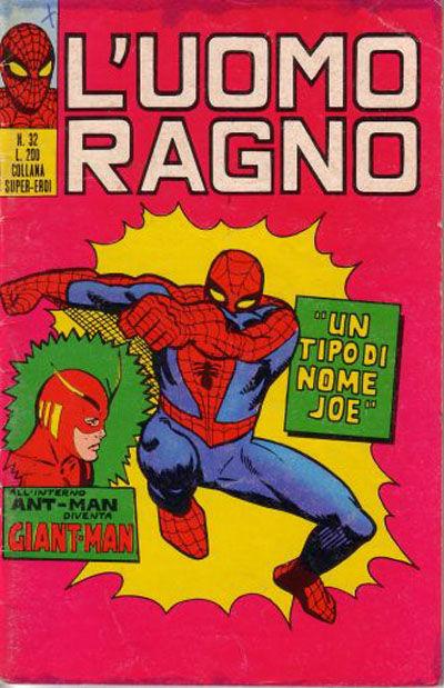 Cover for L'Uomo Ragno [Collana Super-Eroi] (Editoriale Corno, 1970 series) #32