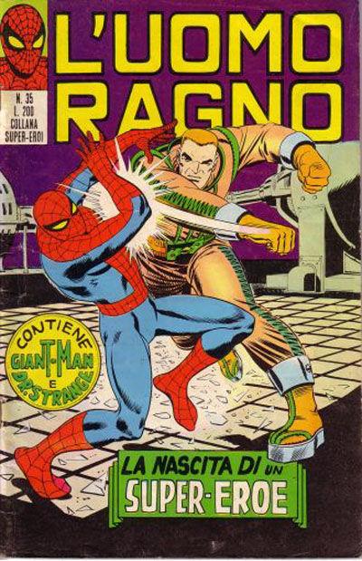 Cover for L'Uomo Ragno [Collana Super-Eroi] (Editoriale Corno, 1970 series) #35