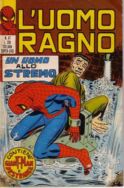 Cover for L'Uomo Ragno [Collana Super-Eroi] (Editoriale Corno, 1970 series) #47