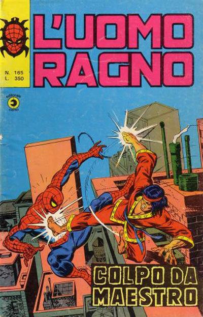 Cover for L'Uomo Ragno [Collana Super-Eroi] (Editoriale Corno, 1970 series) #165
