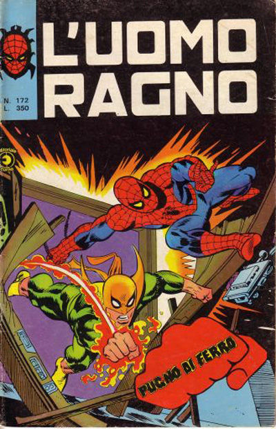 Cover for L'Uomo Ragno [Collana Super-Eroi] (Editoriale Corno, 1970 series) #172