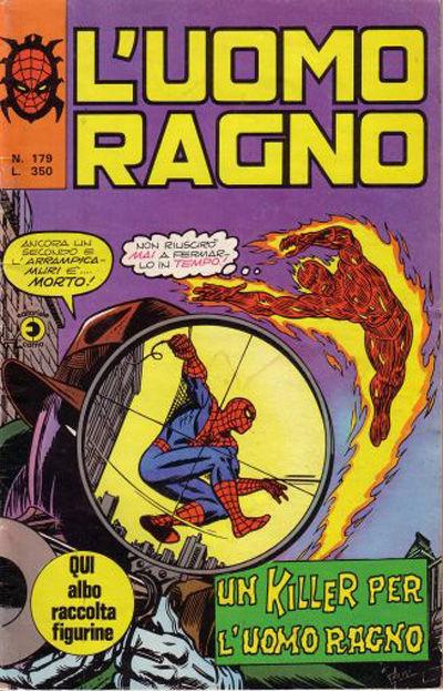 Cover for L'Uomo Ragno [Collana Super-Eroi] (Editoriale Corno, 1970 series) #179