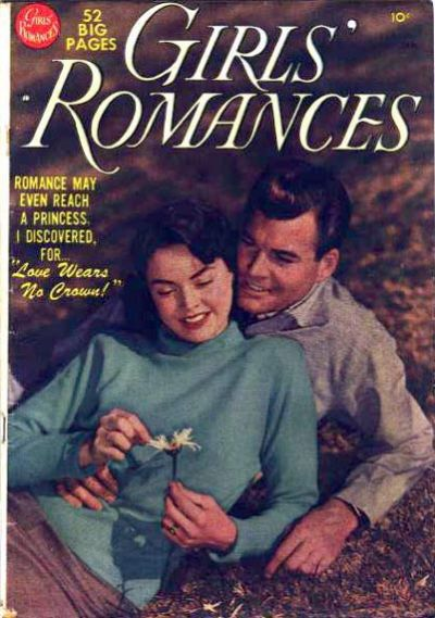 Cover for Girls' Romances (DC, 1950 series) #6