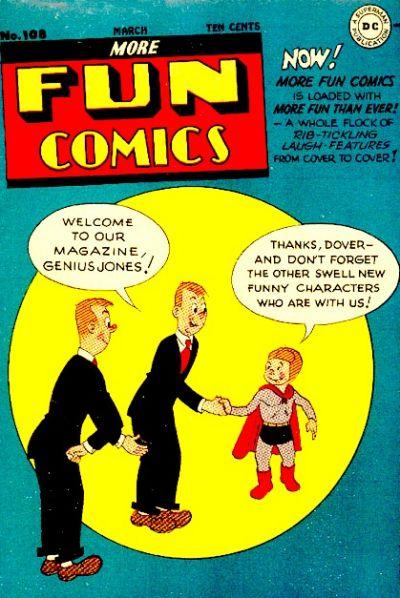 Cover for More Fun Comics (DC, 1936 series) #108