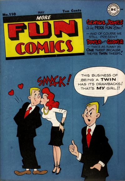 Cover for More Fun Comics (DC, 1936 series) #110