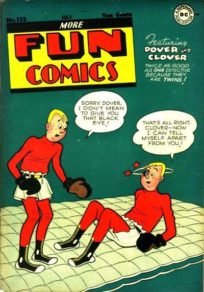 Cover for More Fun Comics (DC, 1936 series) #112