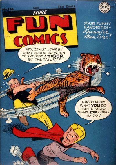 Cover for More Fun Comics (DC, 1936 series) #116