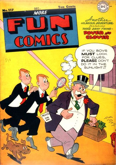 Cover for More Fun Comics (DC, 1936 series) #117