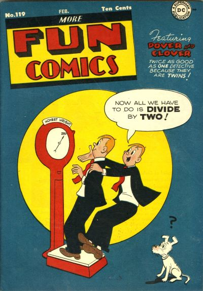 Cover for More Fun Comics (DC, 1936 series) #119