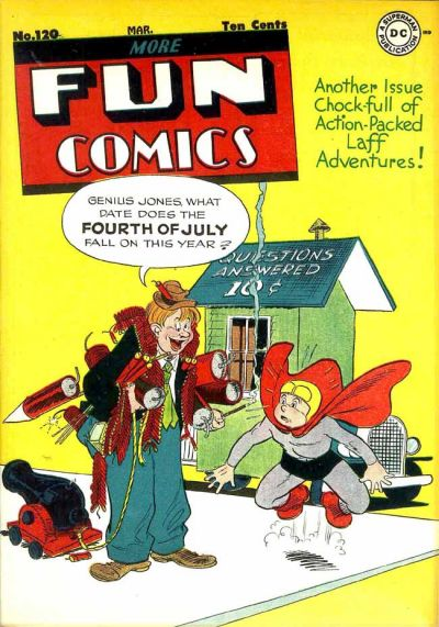 Cover for More Fun Comics (DC, 1936 series) #120