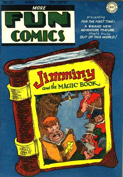 Cover for More Fun Comics (DC, 1936 series) #121