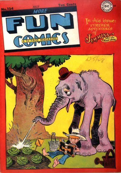 Cover for More Fun Comics (DC, 1936 series) #124